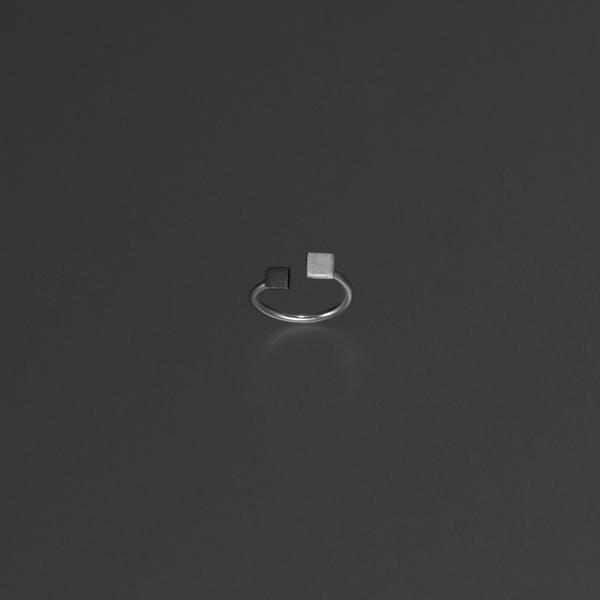 Bande des Quatres Silvio Knuckle Ring