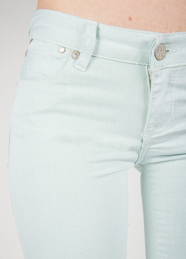 Williamsburg Garment Company - Bedford Ave Skinny in Light Green