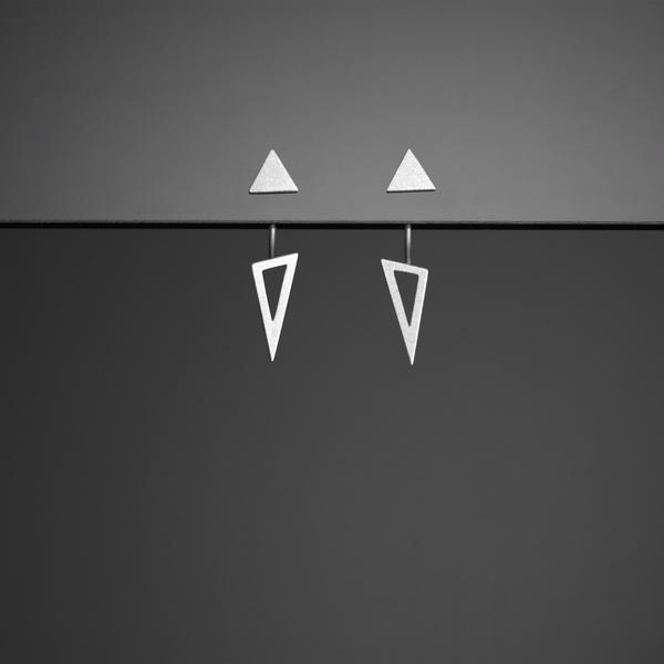 Bande des Quatres Alexander Short Earrings