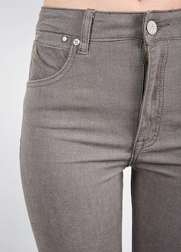 Williamsburg Garment Company - Union Ave Hi Waist Super Skinny in Grey