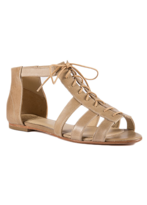 Wolverine 1000 Mile - Samantha Pleet - Sappho Sandal in Taupe