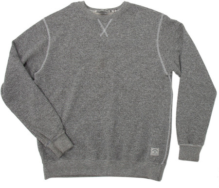 Men's Iron and Resin CREWNECK LIBERTAD GRIS / HEATHER GREY
