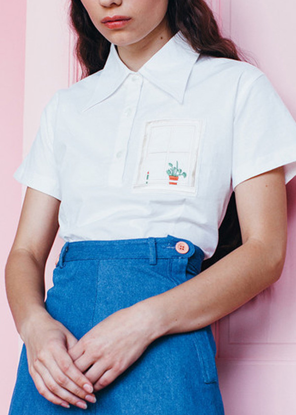 Samantha Pleet House Shirt