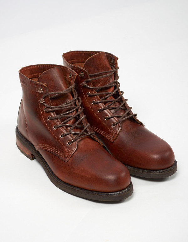 "Men's Wolverine 1883 Wolverine 6"" Kilometer Boot Brown Leather"
