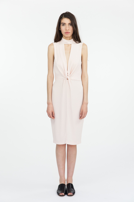 Bec & Bridge Liberty Twist Midi Dress - Blush