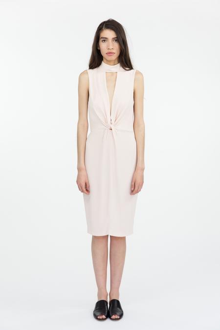 Bec & Bridge Liberty Twist Midi Dress - Blush