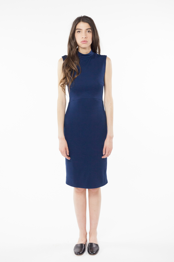 Amity Dress - Dark Blue