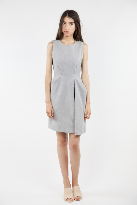 TY-LR The Fortitude Dress - Grey Melange