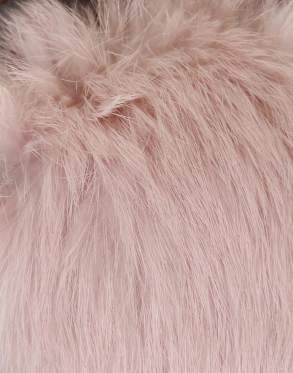 Minna Parikka - Alice Grey & Pink Suede Pump