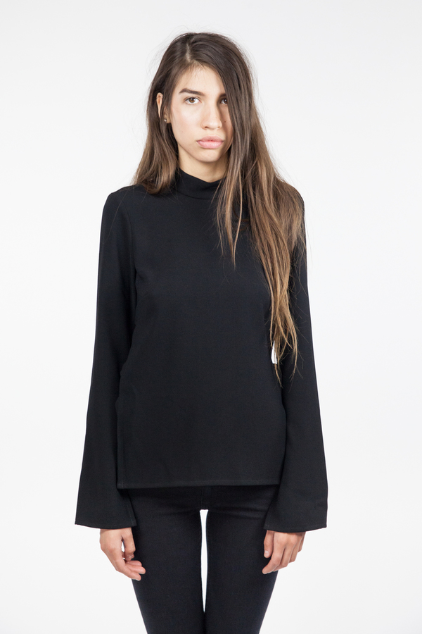 Bec & Bridge Phoenix Long Sleeve Top - Black