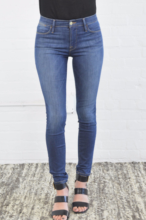 FRAME Denim Frame Le High Skinny in Fleet St.
