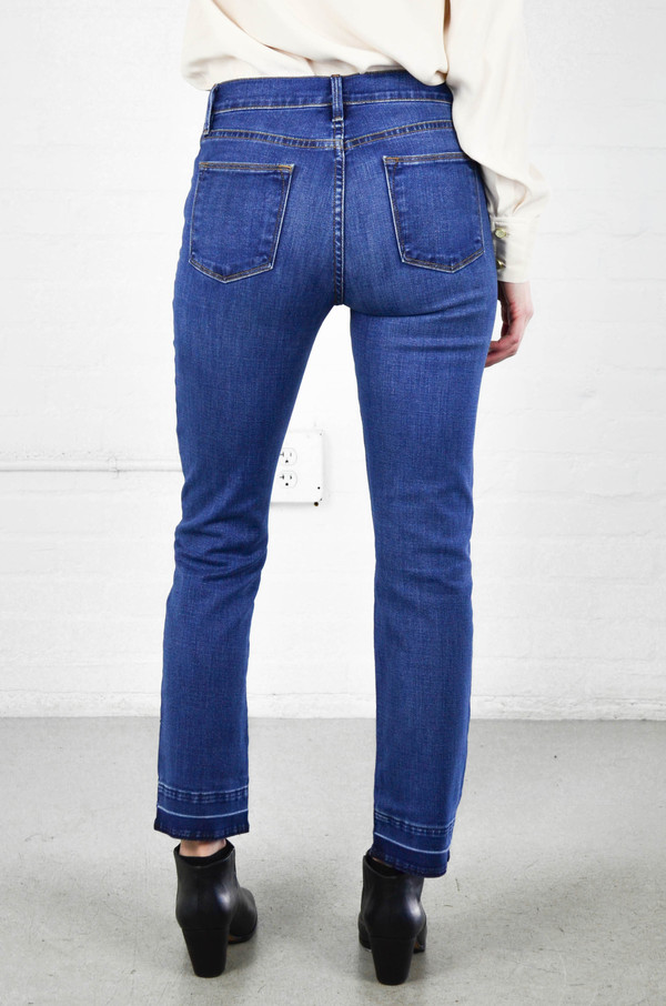 FRAME Denim Frame Le High Straight in Thrasher