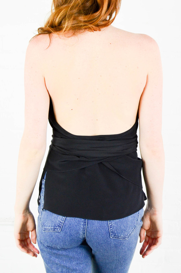 Rachel Comey Black Succulent Top