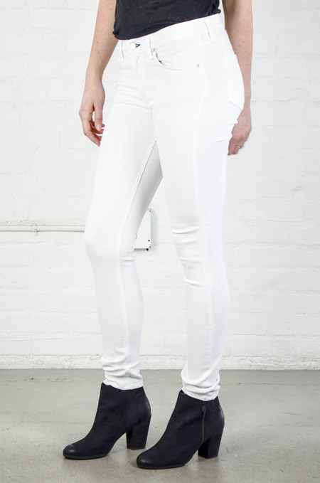 Rag and Bone Skinny in Bright White