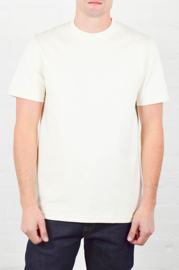 Men's Welcome Stranger Natural 8 oz Bison Pocket Tee