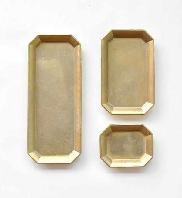 Futagami Medium Brass Stationary Tray