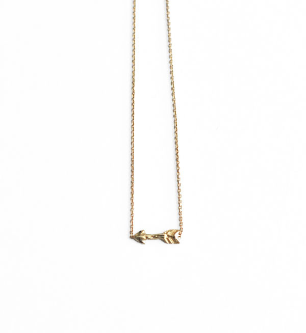 Odette New York Odette Gold Tiny Arrow Bracelet