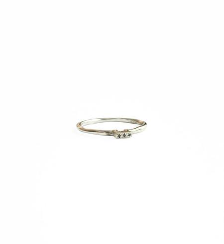 Satomi Kawakita Trio Diamond Ring
