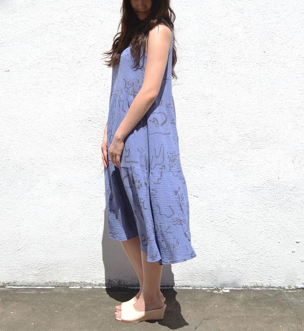 See Sun Indigo Vacation Dress