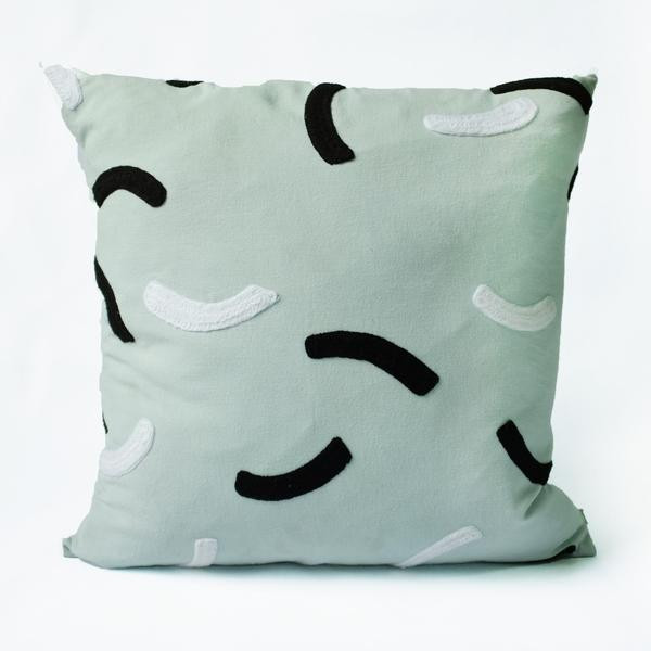 Dusen Dusen Curves Pillow