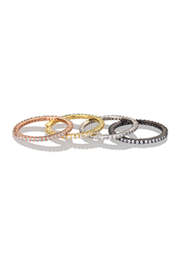 Letters By Zoe - Gold Diamond Eternity Ring
