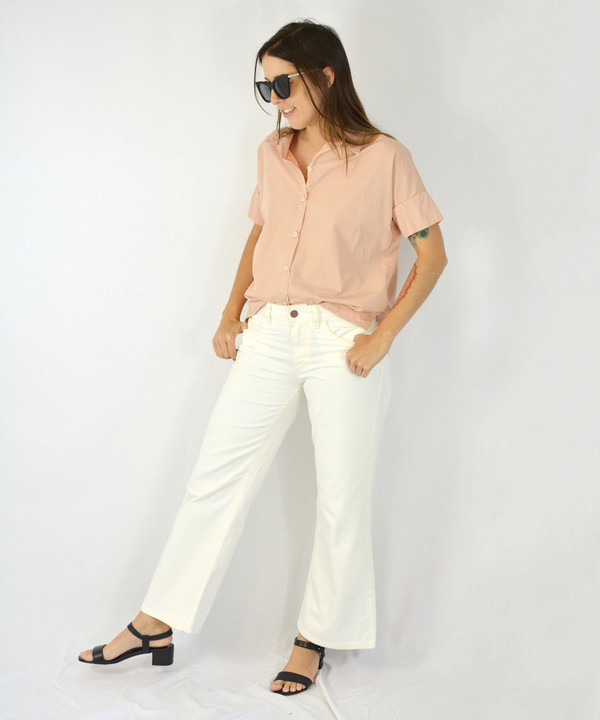 Esby Blush Stella Button Down