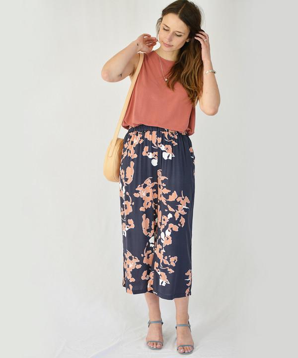 Just Female Leaf Trousers