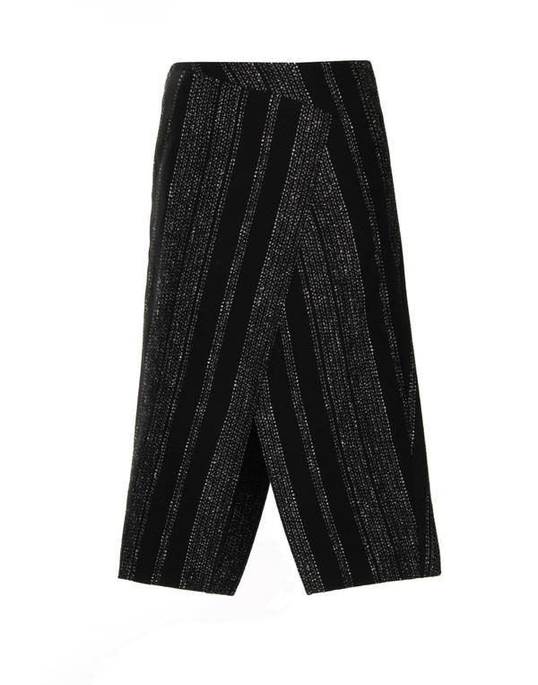 Apiece Apart - Livia Blanket Wrap Slit Skirt in Lezat Stripe