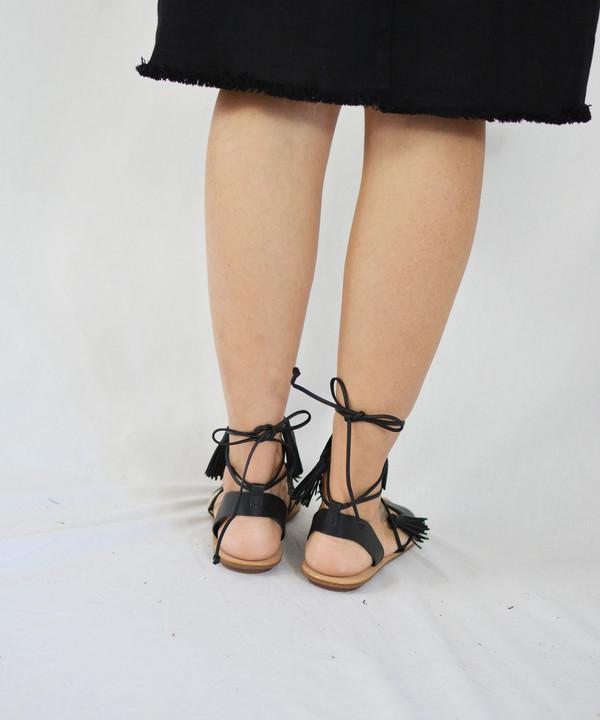 Loeffler Randall Black Saffron Sandal