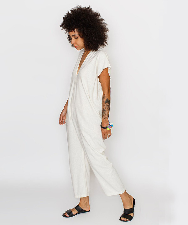 Miranda Bennett Natural Everyday Jumpsuit