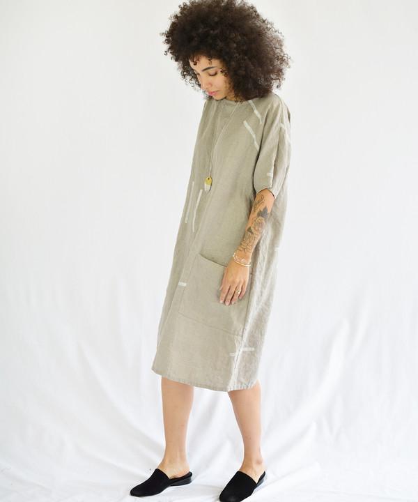 Studio.B Oatmeal Shapes Dress