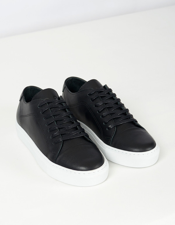 Men's Garment Project Classic Lace Sneaker Black