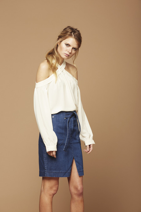 Cosette Clothing Delmar Silk Blouse