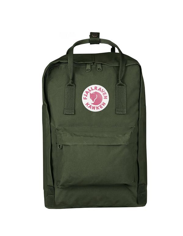 """Fjallraven 15"""" Laptop Kanken Backpack Forest Green"""