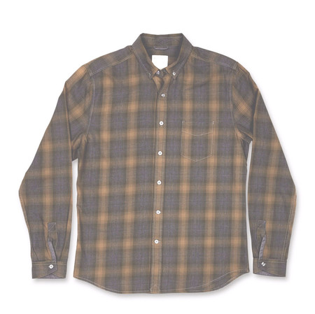 Men's life/after/denim Federiksberg Shirt / Weed