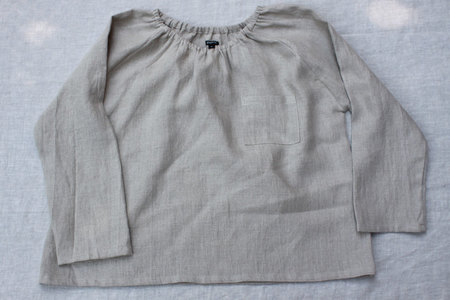pietsie Marais Shirt in Raw Linen