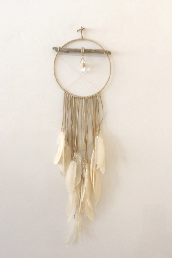 Marion McKee Round Dreamcatcher with Crystal