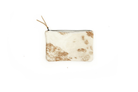 Primecut TAN BRINDLE MEDIUM POUCH