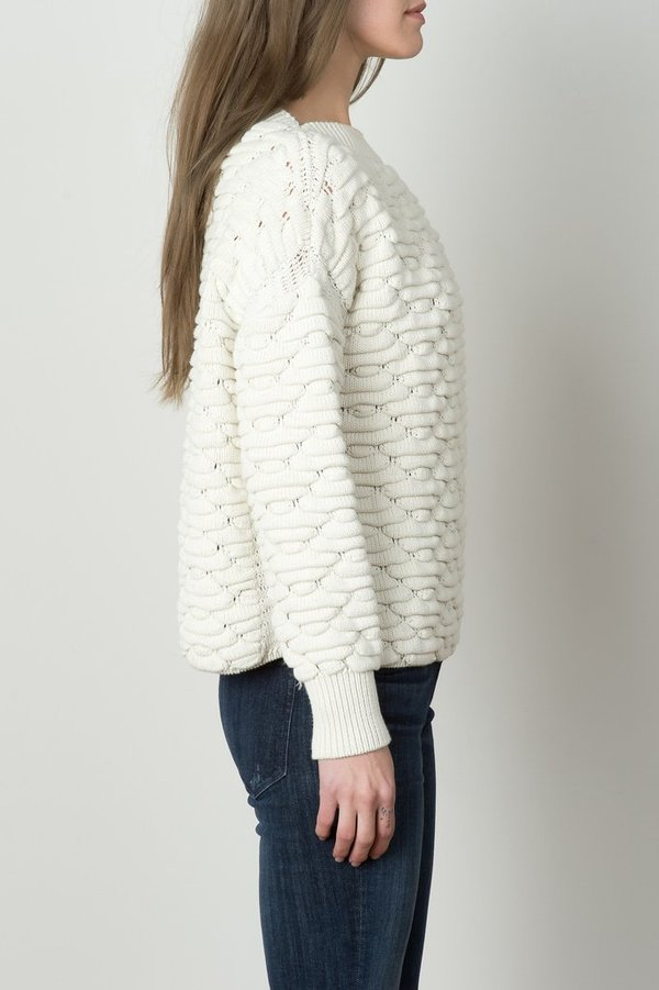 MIH Jeans Blanco Sweater