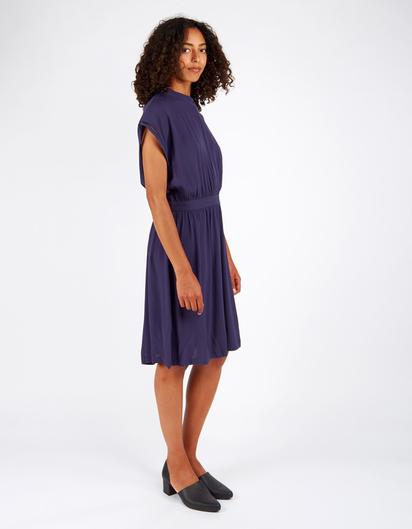 Minimum Kirsa Dress Galaxy Blue