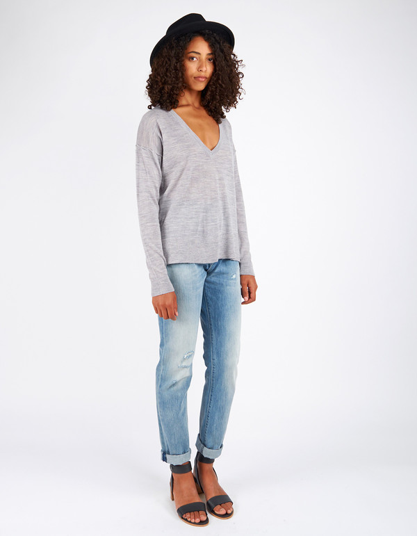 Minimum Sira Knit Light Grey