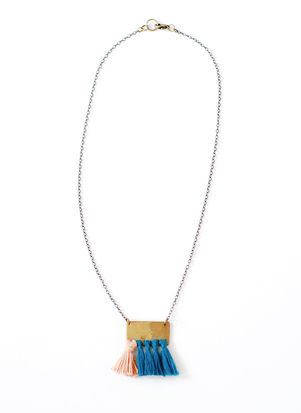Geography 541 - Monterey Necklace