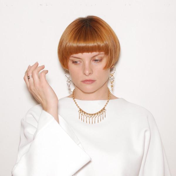 ALYNNE LAVIGNE - Ball/Tassel Necklace