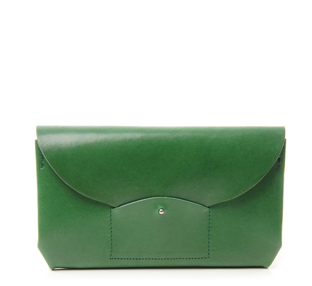 i ro se Green Ric Rac Long Wallet