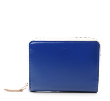 I Ro Se Blue Pop Up Wallet