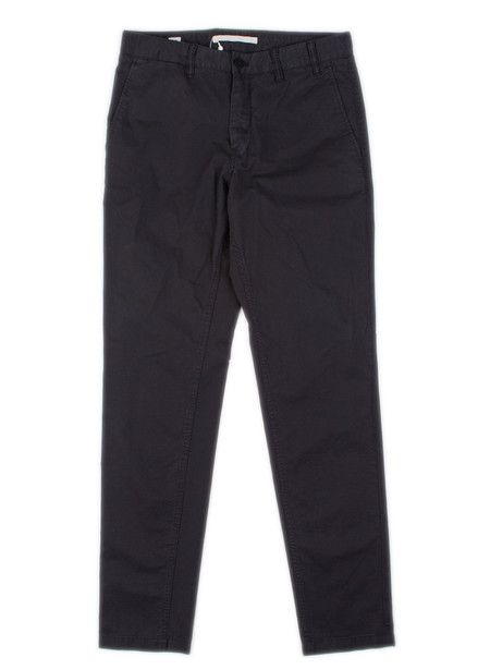Men's Norse Projects Aros Slim Light Twill Black