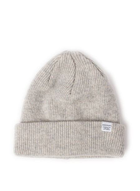 Norse Projects Norse Beanie Light Grey Melange