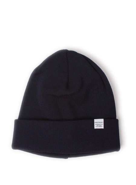 Norse Projects Norse Top Beanie Dark Navy