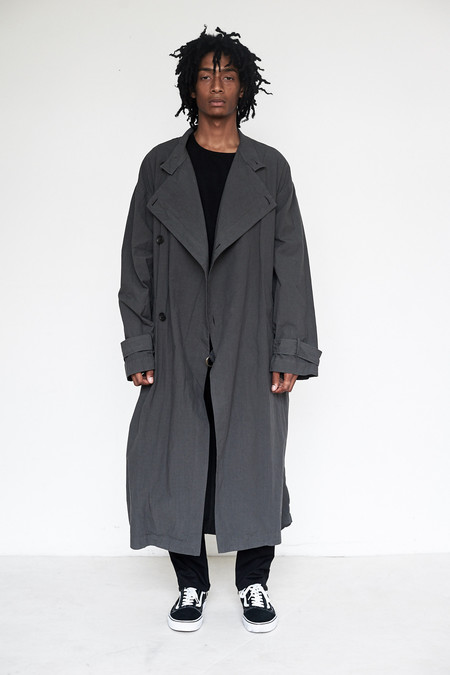 Men's Robert Geller Cotton Giorgio Coat