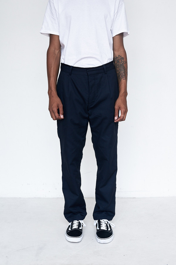 Men's Assembly New York Cotton Rogue Pleat Pant